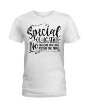 SPED CHALLENGE Ladies T-Shirt front