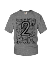 SECOND GRADE TYPO Youth T-Shirt thumbnail