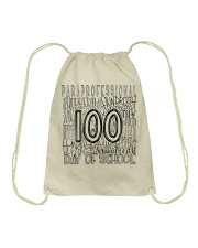 PARAPRO TYPO Drawstring Bag tile