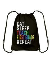 TEACH 1ST GRADE Drawstring Bag thumbnail