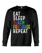 TEACH 1ST GRADE Crewneck Sweatshirt thumbnail
