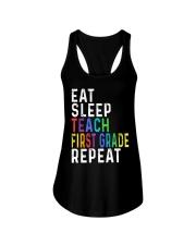 TEACH 1ST GRADE Ladies Flowy Tank thumbnail