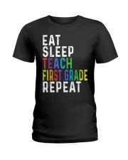 TEACH 1ST GRADE Ladies T-Shirt thumbnail