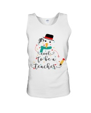 IT'S COOL TO BE A TEACHER Unisex Tank thumbnail