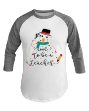 IT'S COOL TO BE A TEACHER Baseball Tee thumbnail