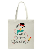 IT'S COOL TO BE A TEACHER Tote Bag thumbnail