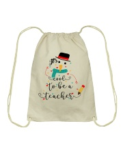 IT'S COOL TO BE A TEACHER Drawstring Bag thumbnail