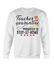 TEACHERS STAY AT HOME Crewneck Sweatshirt thumbnail