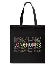 LONGHORN RAINBOW Tote Bag thumbnail