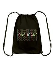 LONGHORN RAINBOW Drawstring Bag thumbnail