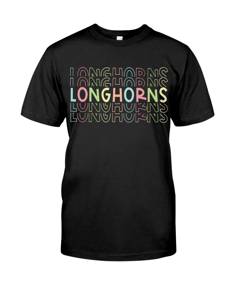 LONGHORN RAINBOW Classic T-Shirt