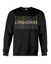 LONGHORN RAINBOW Crewneck Sweatshirt thumbnail