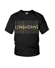 LONGHORN RAINBOW Youth T-Shirt thumbnail