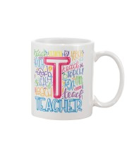 TEACHER TYPOGRAPHIC  Mug thumbnail