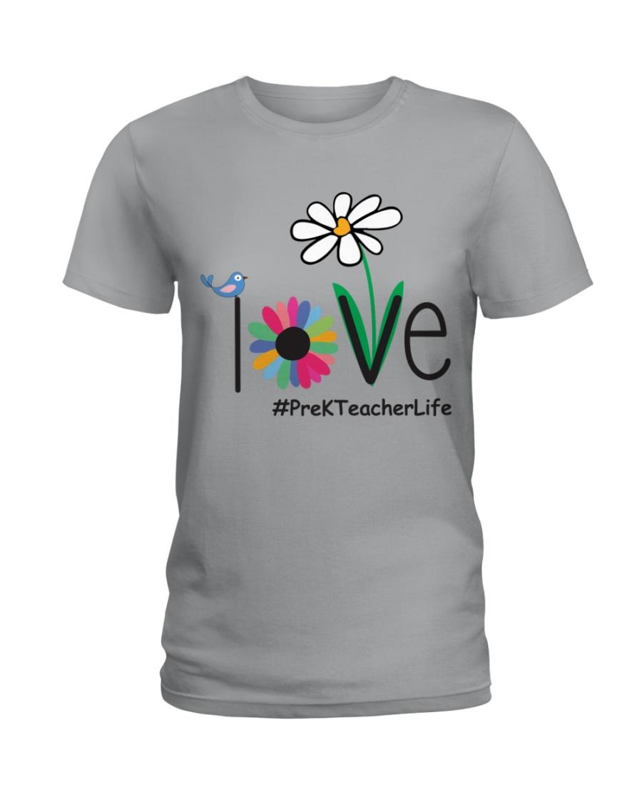 PRE-K TEACHER LIFE Ladies T-Shirt