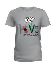 PRE-K TEACHER LIFE Ladies T-Shirt front