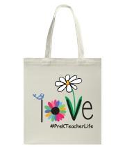 PRE-K TEACHER LIFE Tote Bag thumbnail