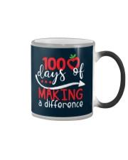 100 DAYS MAKING DIFFERENCE Color Changing Mug thumbnail