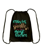 MUSIC TEACHER Drawstring Bag thumbnail