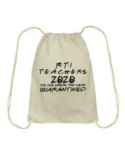 RTI TEACHERS Drawstring Bag thumbnail