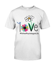 LOVE SCHOOL PSYCHOLOGIST LIFE Classic T-Shirt tile