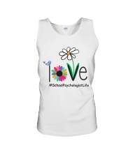 LOVE SCHOOL PSYCHOLOGIST LIFE Unisex Tank tile