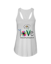 LOVE SCHOOL PSYCHOLOGIST LIFE Ladies Flowy Tank tile