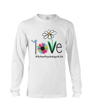 LOVE SCHOOL PSYCHOLOGIST LIFE Long Sleeve Tee thumbnail