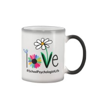 LOVE SCHOOL PSYCHOLOGIST LIFE Color Changing Mug tile