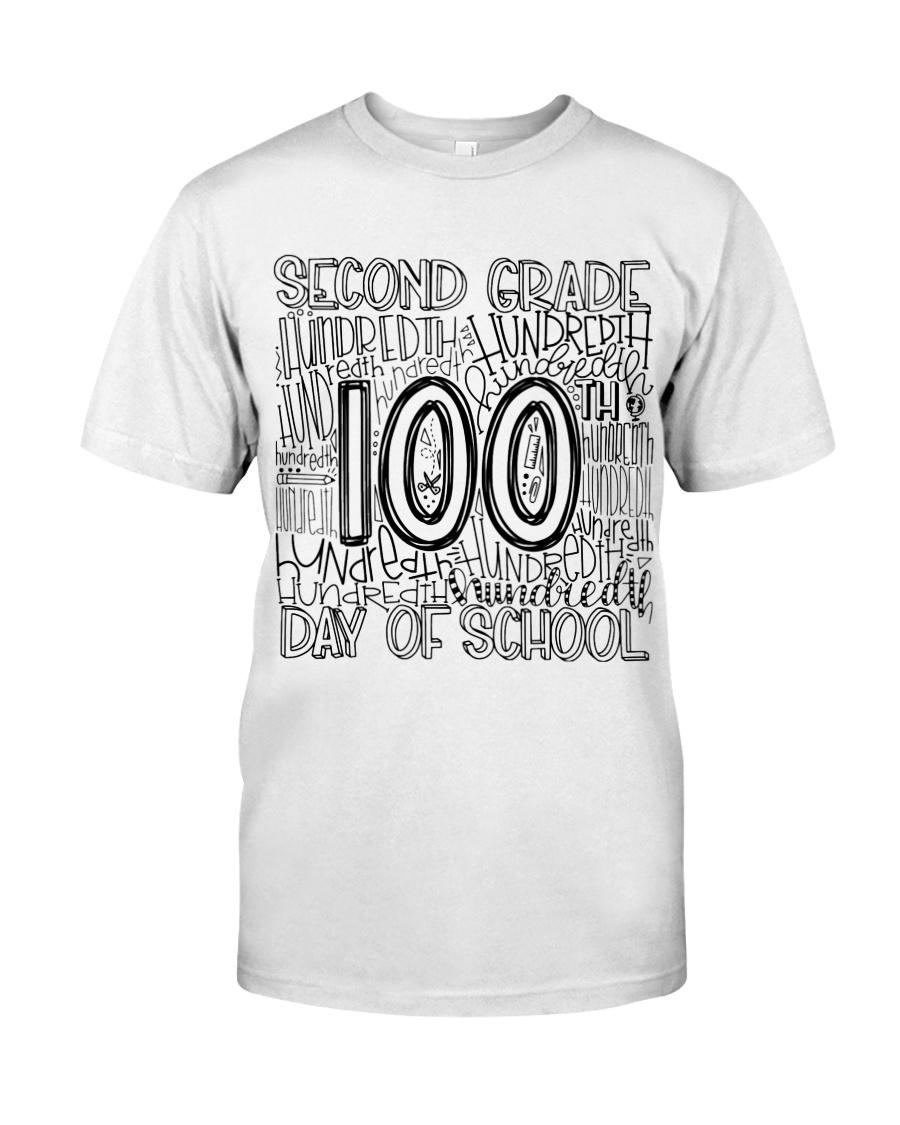 SECOND GRADE TYPO Classic T-Shirt