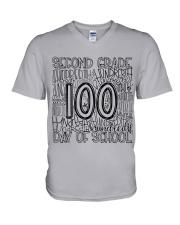 SECOND GRADE TYPO V-Neck T-Shirt thumbnail