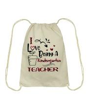 KINDERGARTEN TEACHER Drawstring Bag thumbnail