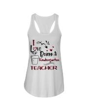 KINDERGARTEN TEACHER Ladies Flowy Tank thumbnail