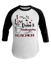 KINDERGARTEN TEACHER Baseball Tee thumbnail