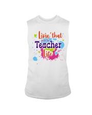LIVING LIKE PRE-K TEACHER Sleeveless Tee thumbnail
