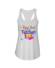 LIVING LIKE PRE-K TEACHER Ladies Flowy Tank thumbnail