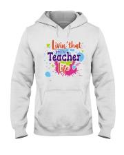 LIVING LIKE PRE-K TEACHER Hooded Sweatshirt thumbnail