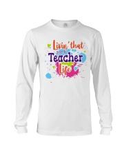 LIVING LIKE PRE-K TEACHER Long Sleeve Tee thumbnail