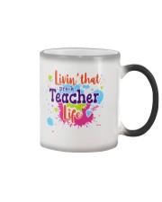 LIVING LIKE PRE-K TEACHER Color Changing Mug thumbnail