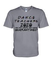 DANCE 2020 V-Neck T-Shirt thumbnail