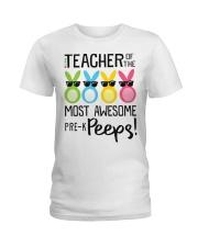 PRE-K PEEPS Ladies T-Shirt front