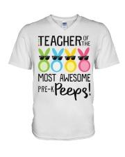 PRE-K PEEPS V-Neck T-Shirt thumbnail