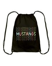 MUSTANG RAINBOW Drawstring Bag thumbnail