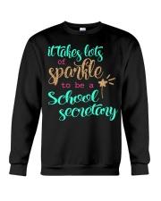 SCHOOL SECRETARY SPARKLE Crewneck Sweatshirt thumbnail