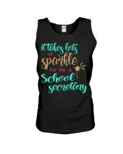 SCHOOL SECRETARY SPARKLE Unisex Tank thumbnail