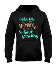 SCHOOL SECRETARY SPARKLE Hooded Sweatshirt thumbnail