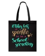SCHOOL SECRETARY SPARKLE Tote Bag thumbnail