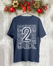 SECOND GRADE Classic T-Shirt lifestyle-holiday-crewneck-front-2