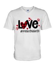 PRESCHOOL LIFE V-Neck T-Shirt thumbnail