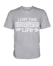 KINDERGARTEN V-Neck T-Shirt thumbnail